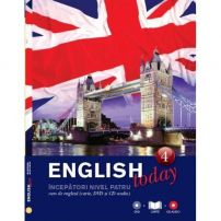 English today - Curs de engleza (Carte, DVD si CD audio) - Vol. 4