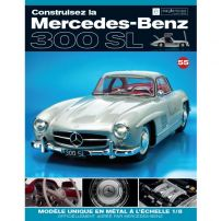 Macheta Mercedes-Benz 300SL Gullwing nr.55 - kit construibil - EAGLEMOSS COLLECTION