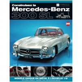 Macheta Mercedes-Benz 300SL Gullwing nr.35 - kit construibil - EAGLEMOSS COLLECTION