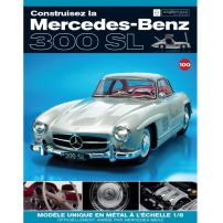 Macheta Mercedes-Benz 300SL Gullwing nr.100 - kit construibil - EAGLEMOSS COLLECTION