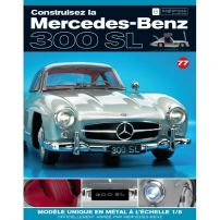 Macheta Mercedes-Benz 300SL Gullwing nr.77 - kit construibil - EAGLEMOSS COLLECTION