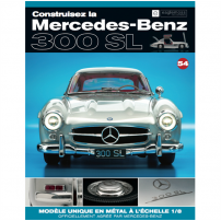 Macheta Mercedes-Benz 300SL Gullwing nr.54 - kit construibil - EAGLEMOSS COLLECTION