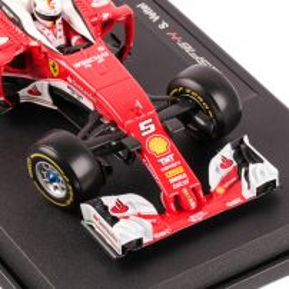 Ferrari SF16-H #5 SEBASTIAN VETTEL F1 UPS 2016, scara 1:18, rosu, Bburago