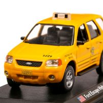 Ford Escape Hybrid Chicago Taxi 2005, macheta Taxi scara 1:43, galben, Atlas