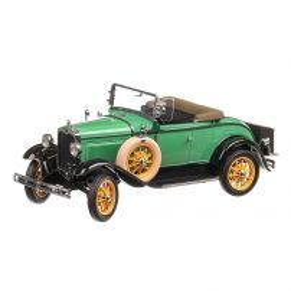 Ford Model A Roadster 1931, macheta auto, scara 1:18, verde, Sun Star