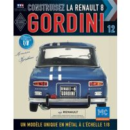 Macheta Renault R8 GORDINI EAGLEMOSS scara 1:8  nr.12 - kit construibil