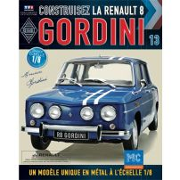 Macheta Renault R8 GORDINI EAGLEMOSS scara 1:8  nr.13 - kit construibil