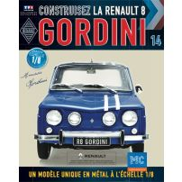 Macheta Renault R8 GORDINI EAGLEMOSS scara 1:8  nr.14 - kit construibil