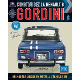 Macheta Renault R8 GORDINI EAGLEMOSS scara 1:8  nr.8 - kit construibil