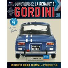Macheta Renault R8 GORDINI EAGLEMOSS scara 1:8  nr.20 - kit construibil