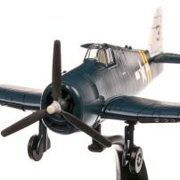 Grumman F6F-5N Hellcat USA 1942, macheta avion, scara 1:72, albastru, Atlas