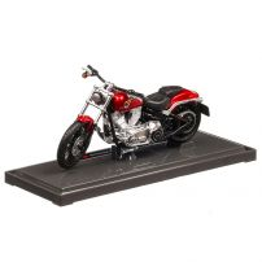 Harley-Davidson Breakout 2016, macheta motocicleta, scara 1:18, rosu metalizat, Maisto
