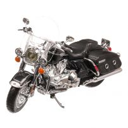 Harley-Davidson FLHRC Road King Classic 2013, macheta motocicleta, scara 1:12, negru, Maisto