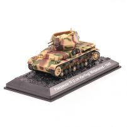Vehicule Militare Stars nr.28 - FLAKPANZER IV (2 cm VIERLING) WIRBELWIND - 1945
