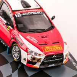 Colectia Raliul Monte Carlo Nr. 16 - Mitsubishi Lancer Evolution X 2014 Eaglemoss