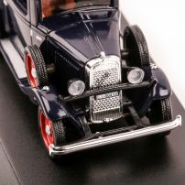 Fiat 508 Balilla Carabinieri 1938, macheta auto, scara 1:43, albastru inchis, Magazine models