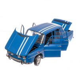 Macheta Renault R8 GORDINI EAGLEMOSS scara 1:8 - kit construibil complet + 4 cadouri