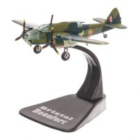 Bristol Beaufort Type 152  UK 1939, camuflaj verde, macheta avion scara 1:144, Atlas