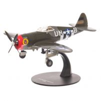 Republic P-47D THUNDERBOLT SUA 1944, camuflaj, macheta avion scara 1:72, Atlas