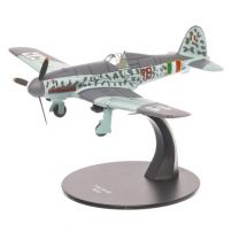Fiat G.55 Centauro Italia 1943, gri, macheta avion scara 1:72, Atlas