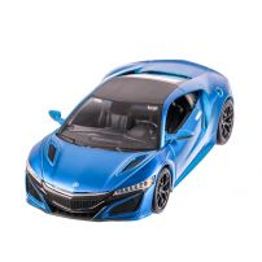 Acura NSX 2017, macheta auto scara 1:24, albastru, window box, Maisto