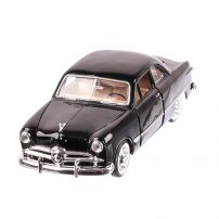 Ford COUPE 1949, macheta auto scara 1:24, negru, window box, Motor Max
