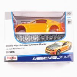 Ford Mustang Street Racer 2014, macheta auto scara 1:24, metalic model kit, Maisto