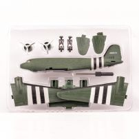 Avion DC-3 scara 1:95 kit construibil