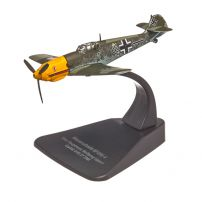 Messerschmitt BF 109E-4 1945, macheta avion scara 1:72, camuflaj, Oxford
