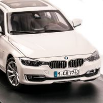 BMW 3 Series Touring F31 2012, macheta auto scara 1:18, alb, Paragon