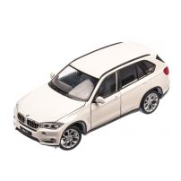 BMW X5 2015, macheta auto scara 1:24, alb, Welly