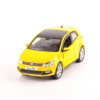 VW POLO MARK 5 GTI, scara 1:32, galben, BBurago