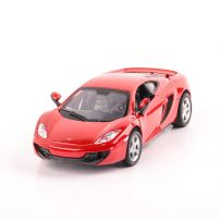 McLaren MP4-12C 2011 macheta auto scara 1:32, rosu, New Ray