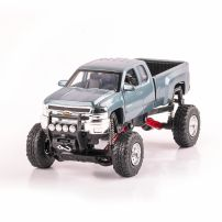Chevrolet Silverado 2500HD scara 1:32, bleu, monster-truck, New Ray