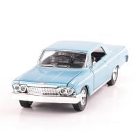 CHEVROLET IMPALA 1962, scara 1:24, bleu, window box, New Ray