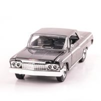 CHEVROLET IMPALA 1962, scara 1:24, negru, window box, New Ray