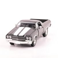 CHEVROLET CAMINO 1970, scara 1:24, negru cu alb, window box, New Ray