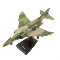 Avion F-4 Phantom 2013, macheta avion, scara 1:72, camuflaj verde, New Ray