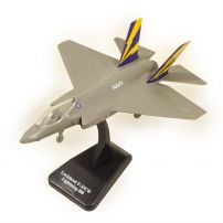 Avion Lockhead F-35C Lightning II 2019, macheta avion, scara 1:72, gri, New Ray