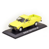 Dacia 1304 Pick-up 2 usi 1984, macheta auto, scara 1:43, galben, Magazine Models