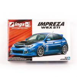 SUBARU GRB IMPREZA WRX STI '07 INGS, scara 1:24, Aoshima, kit plastic
