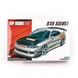 NISSAN S15 SILVIA TOP SECRET '99, scara 1:24, Aoshima, kit plastic