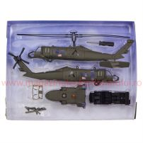 Elicopter Sikorsky UH-60 Black Hawk kit construibil 1:60 NR25565