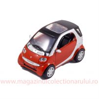 Smart Fortwo 2007, macheta auto, scara 1:43, rosu, New Ray