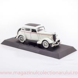 Ford Deluxe Fordor 1934, macheta auto scara 1:32, alb, New Ray