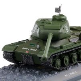 IS-2 TANK 1945 (NC-2), macheta vehicul militar scara 1:43, verde, Atlas