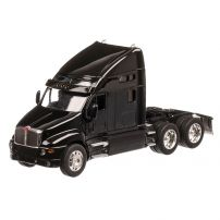 Kenworth T2000 2010, macheta cap tractor, scara 1:32, negru, Welly