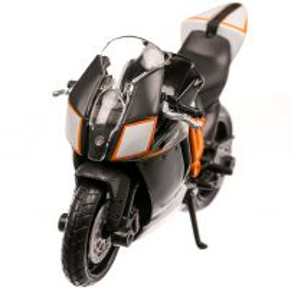 KTM 1190 RC8 R 2013, macheta motocicleta, scara 1:18, negru, Bburago