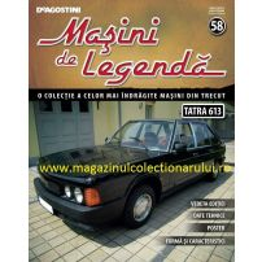 Masini de legenda nr.58 - TATRA 613