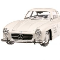 Mercedes-Benz 300 SL (W198) 1954, macheta auto, scara 1:24, alb, Welly
